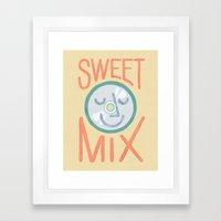 Sweet Mix Framed Art Print