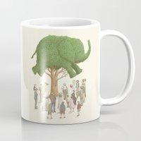 The Night Gardener - Elephant Tree Mug