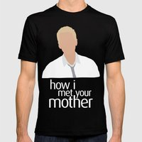 Barney Stinson HIMYM Mens Fitted Tee Black SMALL