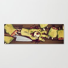 Zombie Sushi Canvas Print