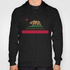 California Republic state flag - Authentic Version Hoody