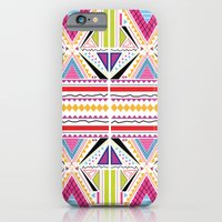 iPhone & iPod Case featuring Fluorescent Summer by Sian Roberts