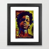 Portrait * Darren Le Gal… Framed Art Print