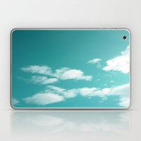 Teal Kissed Sky. Laptop & iPad Skin