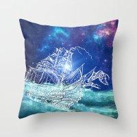 To Neverland Throw Pillow