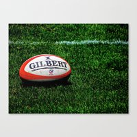 Rugby Time Canvas Print