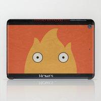 Howl Castle Poster iPad Case