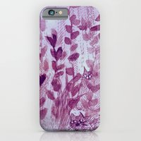 iPhone & iPod Case featuring hiding cats by Marianna Tankelevich