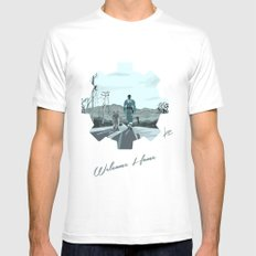 Fallout 4 Mens Fitted Tee White SMALL