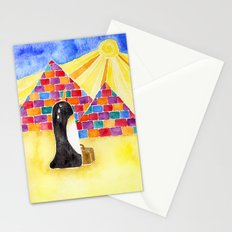 Penguin On Holiday Stationery Cards