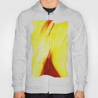 Abstract Art - Yellow & Red Hoody