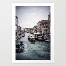 Faded Memories: Venezia Art Print