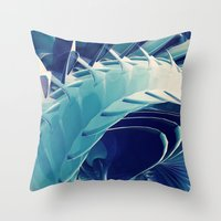 Space Abstract  Throw Pillow