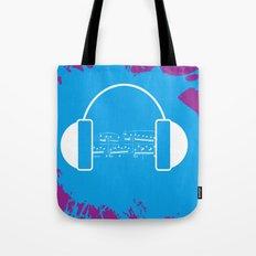 The Music Brain Tote Bag
