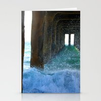 Under The Boardwalk Stationery Cards