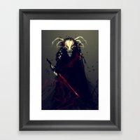 Bleach Mask FanArt Framed Art Print