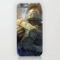 iPhone & iPod Case featuring HALO 4 by Tyler Edlin Art
