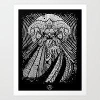 One From Beneath  Art Print