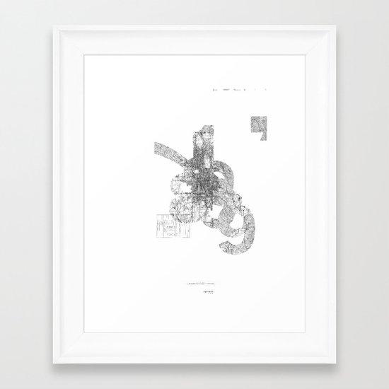 map: '794-1869 Framed Art Print