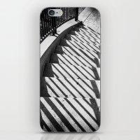 Stairway shadows iPhone & iPod Skin