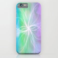 Soft Pastel Spiral Abstract iPhone 6 Slim Case