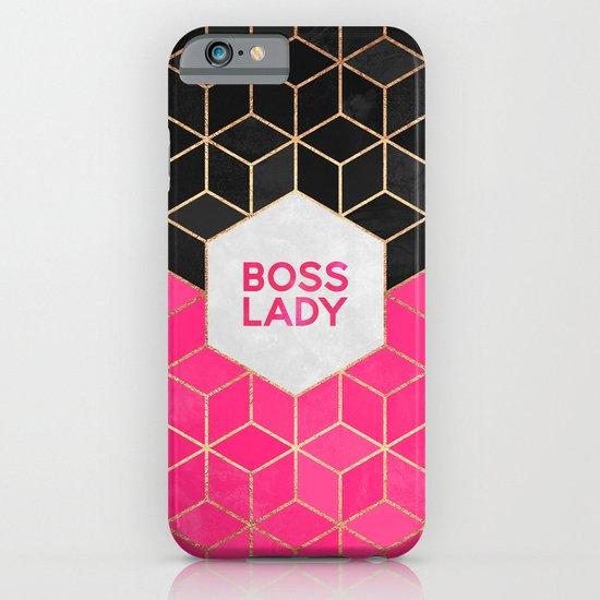 Boss Lady iPhone & iPod Case by Elisabeth Fredriksson