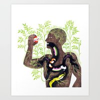 The Soil Man Art Print