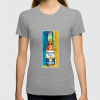 Corona Beer Womens Fitted Tee Tri-Grey SMALL