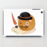 Guinea Pig Portrait 2 iPad Case
