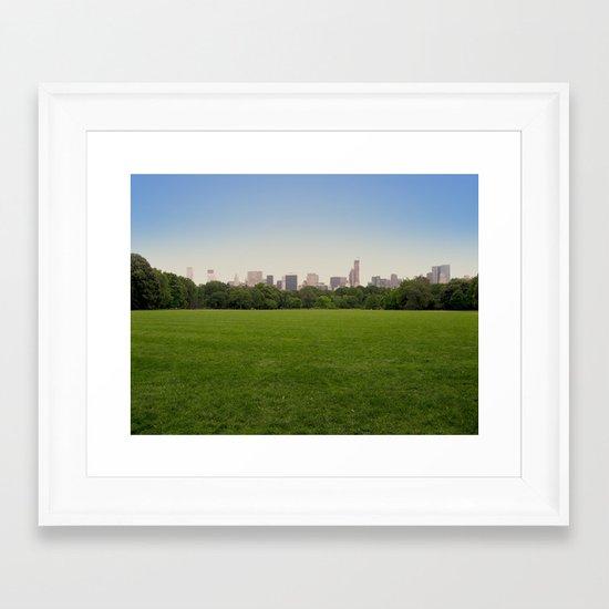 New York in 20 pics - Pic 12. Framed Art Print