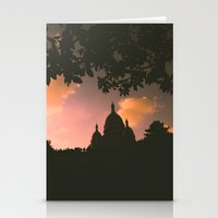 Sacre-Coeur, Paris. Stationery Cards