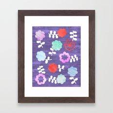 Daisy Dallop Framed Art Print