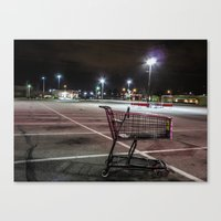 Late Night Shopping Canvas Print