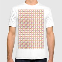 Juicy Apples Mens Fitted Tee White SMALL