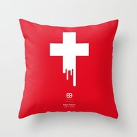 Federer Out Of Top 4 Throw Pillow