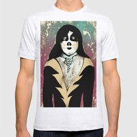 Poster The Great Peter Criss Mens Fitted Tee Ash Grey SMALL