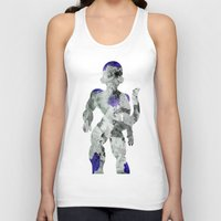 Lord Frieza - Digital Watercolor Painting Unisex Tank Top
