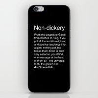 Non-dickery iPhone & iPod Skin