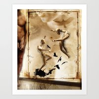 Tarot Series: The Lovers Art Print