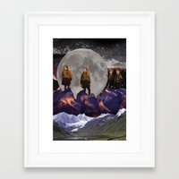 Return To Witch Mountain Framed Art Print