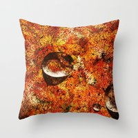 Abstract Texture  Throw Pillow
