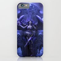 iPhone & iPod Case featuring Black Angel by sandara