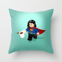 This is a Stick Up! Throw Pillow