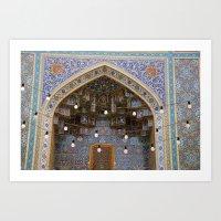 Iranian Mosaic Art Print