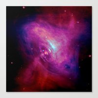 The Beam Canvas Print