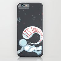 It's Lonely Out In Space iPhone 6 Slim Case