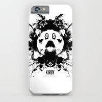 Kirby Ink Blot Geek Psychological Disorders iPhone 6 Slim Case