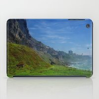 Misty Cliffs iPad Case