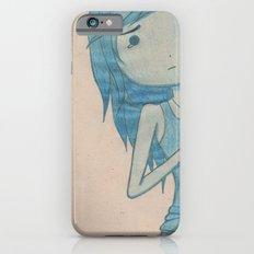 feeling blue iPhone 6 Slim Case