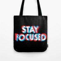 Stay Focused Tote Bag